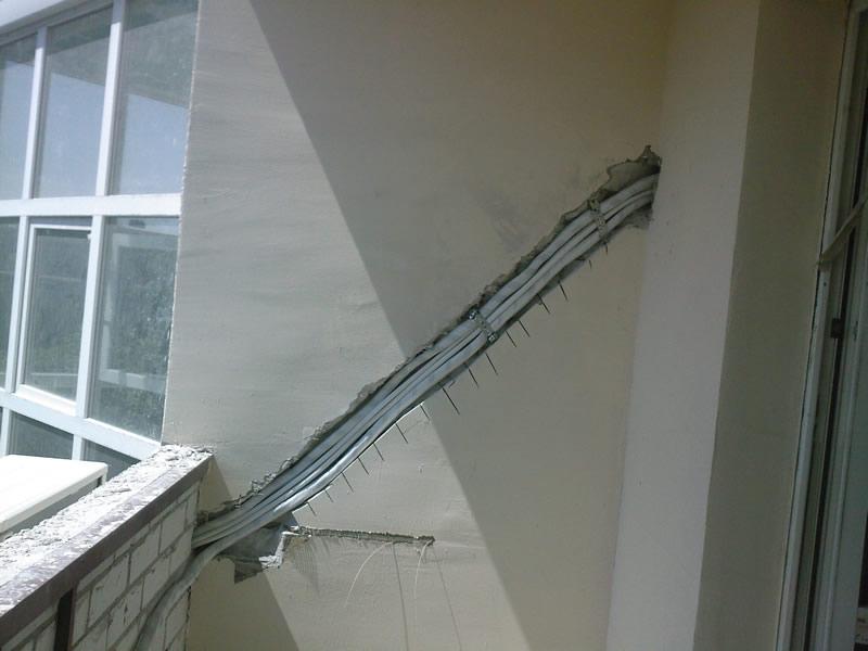 Кондиционер на балконе. - галерея работ утепление - каталог .